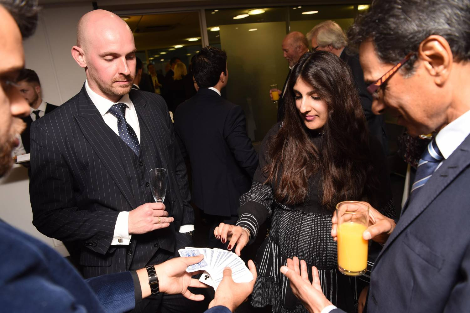 Kang & Co Solicitors Autumn Drinks and Canapés Reception Birmingham
