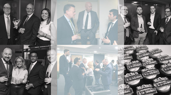 Kang & Co Solicitors Birmingham Drinks and Canapés Reception