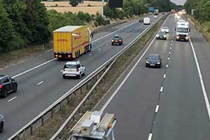 case study motorway speeding