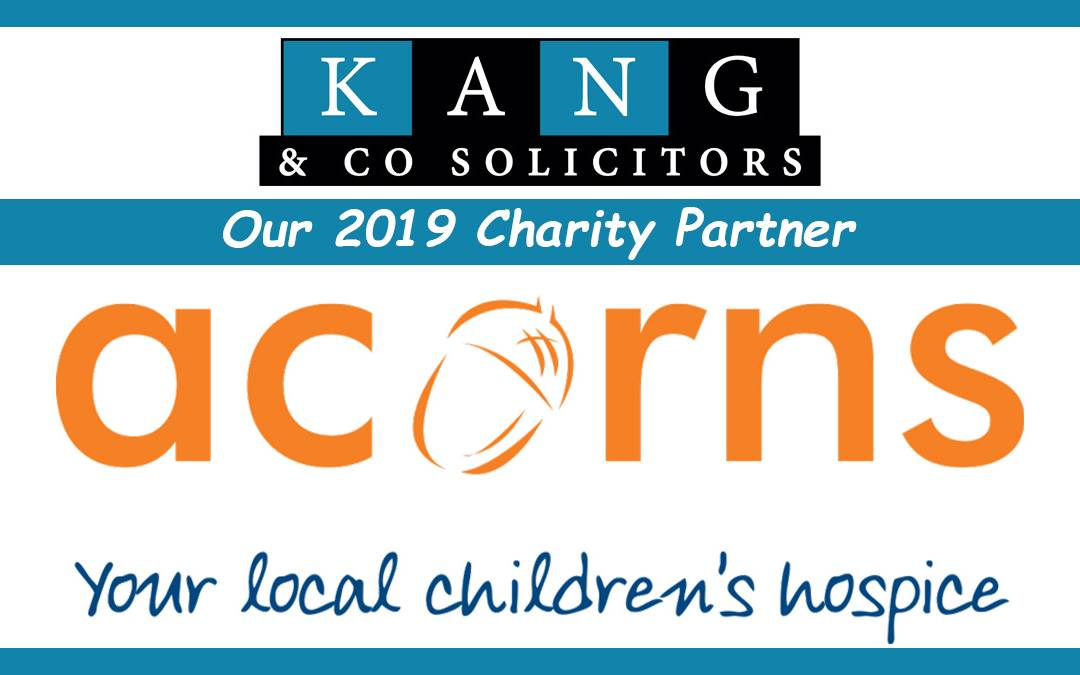 Acorns Children's Hospice: Our 2019 Charity Partner