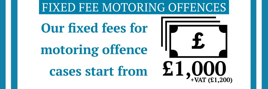 fixed fee motoring law firm