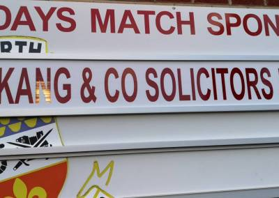 kang and co solicitors sponsor tamworth football club