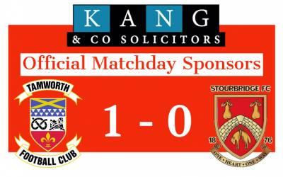 Official Matchday Sponsors for Tamworth FC vs Stourbridge FC