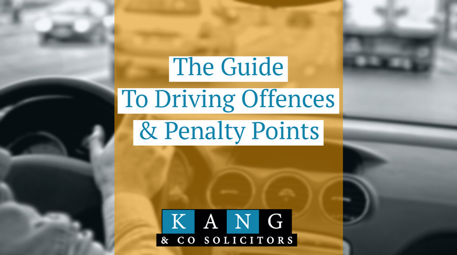 Your Guide to Driving Offences and Penalty Points