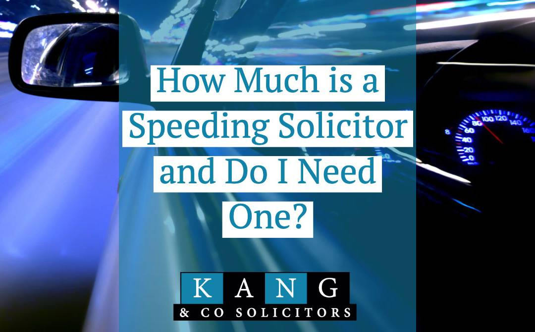 How Much is a Speeding Solicitor and Do I Need One?