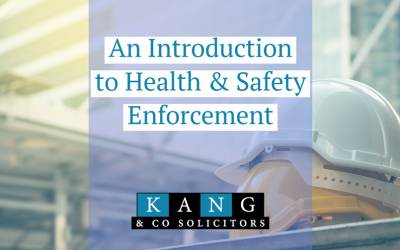 An Introduction to Health & Safety Enforcement