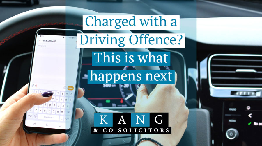 Charged With a Driving Offence? This is What Happens Next