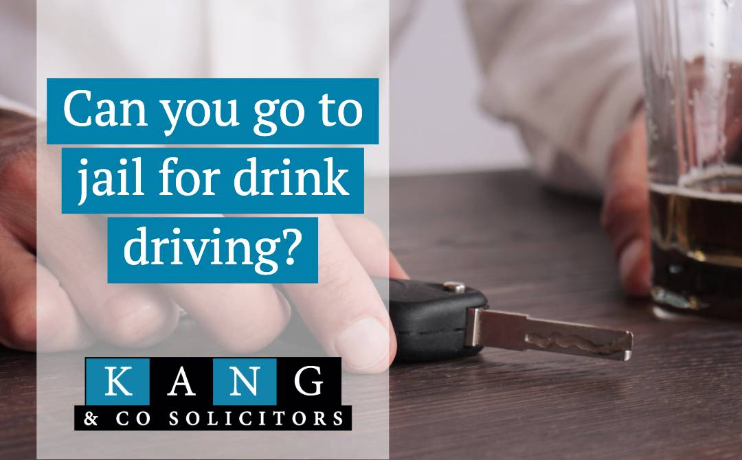 can you go to jail for drink driving
