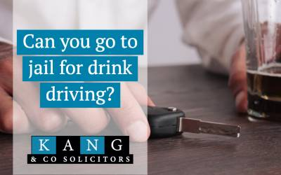Can you go to Jail for Drink Driving?
