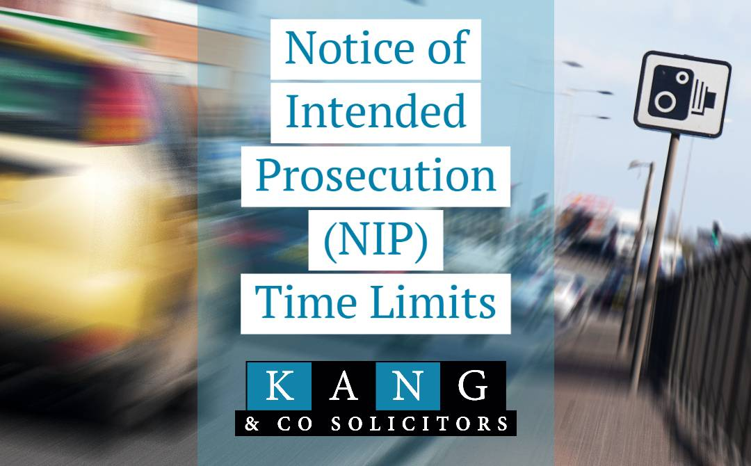 Notice of Intended Prosecution NIP Time Limits