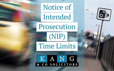 Notice of Intended Prosecution (NIP) Time Limits