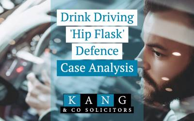 Drink Driving 'Hip Flask' Defence: Case Analysis