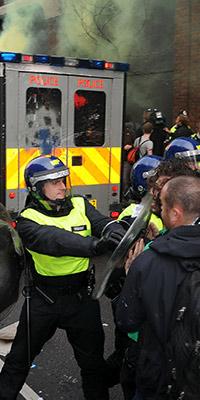 public order offences riot rioting