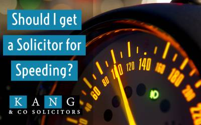Should I get a Solicitor for Speeding?