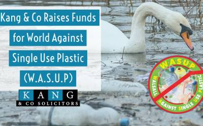 Kang & Co Raise Funds for World Against Single Use Plastic