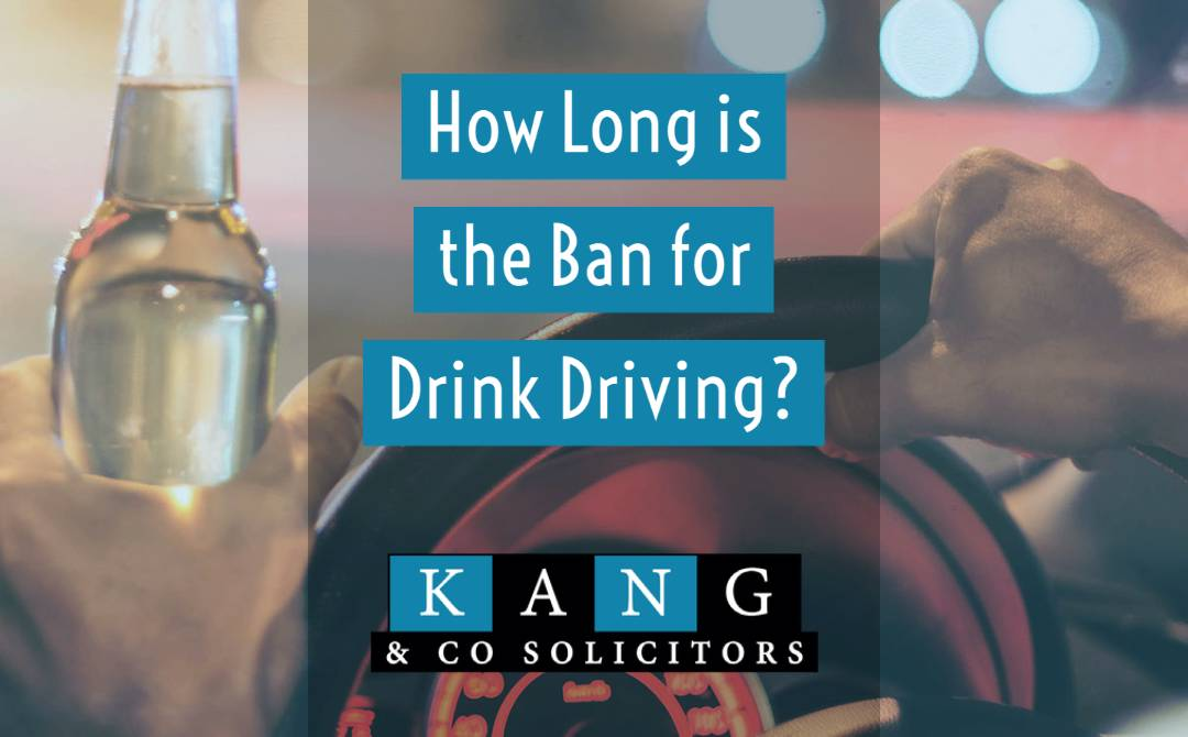 How Long is the Ban for Drink Driving?