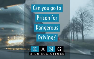 Can you go to Prison for Dangerous Driving?