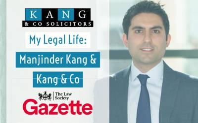 My legal life: Manjinder Singh Kang, Kang & Co Solicitors (Law Gazette)
