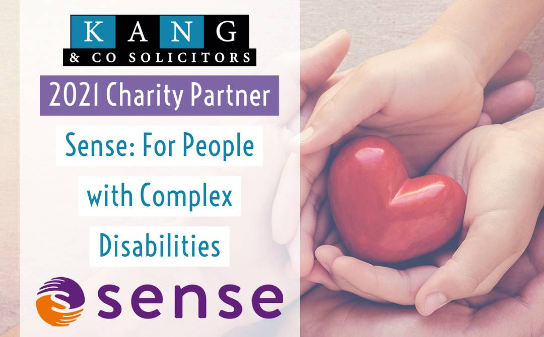 2021 Charity Partner: Sense, Complex Disabilities Charity