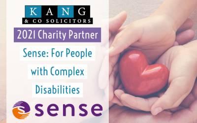 2021 Charity Partner: Sense, Complex Disabilities Charity