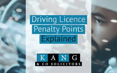 Driving Licence Penalty Points Explained