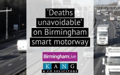 'Deaths unavoidable' on Birmingham smart motorway