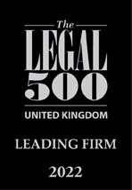 Legal 500 Leading Firm 2022