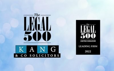 """Kang & Co ranked """"Leading Firm"""" for Criminal Law by Legal 500"""